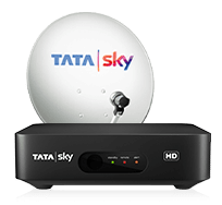 tata sky new connection price